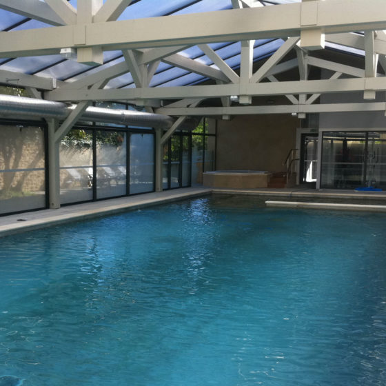 Nos r alisations blue pool concept construction de piscines - Piscine spa integre ...